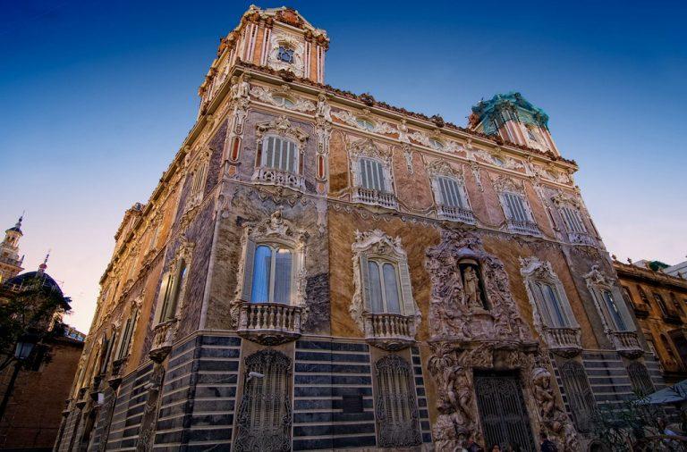 El Palacio del Marqués de dos Aguas en Valencia