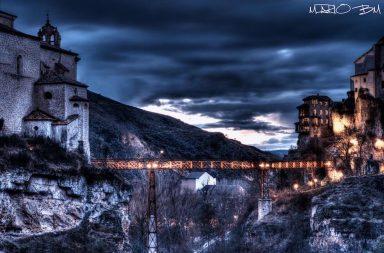 Puente San Pablo azul Cuenca