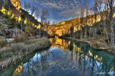 Rio Jugar a su paso por Cuenca. Por Mario Ballesteros