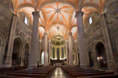 Interior de la catedral de Albacete