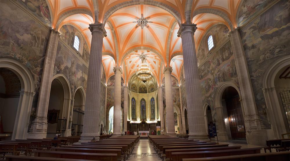 Interior de la catedral de san juan de albacete for Catedral de zamora interior