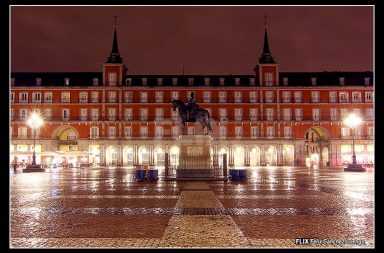 plaza mayor, por Sanchez-luengo