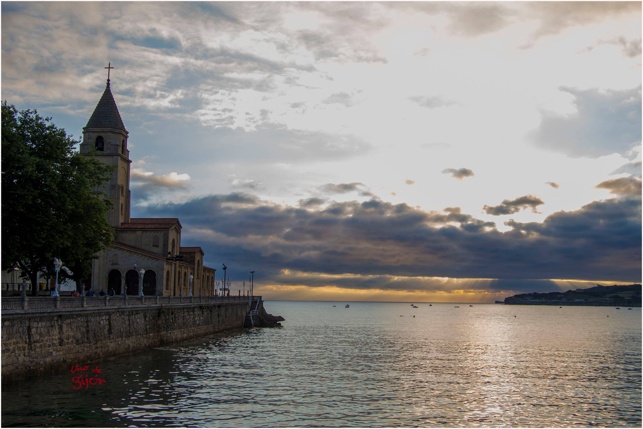 ciudades del Norte de España, Gijón Fotografía por Uno de Gijón