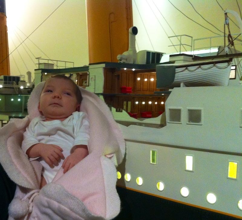 catalana de 104 años y vasca de 63 días, las pasajera de más edad y más joven TITANIC