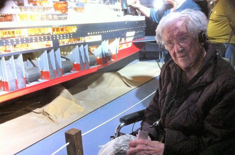 """Una catalana de 104 años de edad y una vasca de 63 días las """"pasajeras"""" de más edad y más joven del TITANIC"""