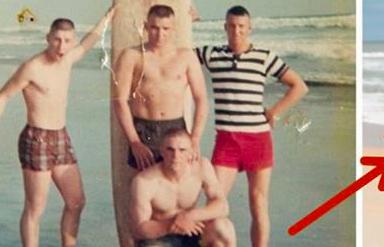 Estos chicos posan antes de ir a la guerra, esta foto 50 años despues te emocionará