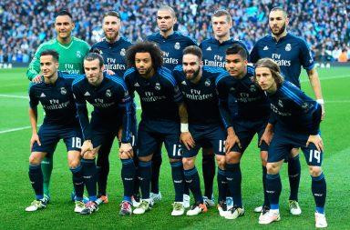 Alineación oficial partido Real Madrid - F.C Barcelona