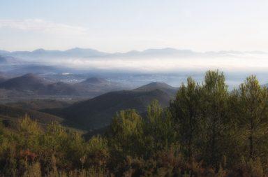 Embalse el Regalo en el Alto Palancia, comarca del municipio de Segorbe