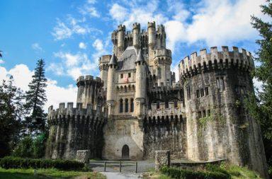 Conocemos el Castillo de Butrón en Gatika, Vizcaya