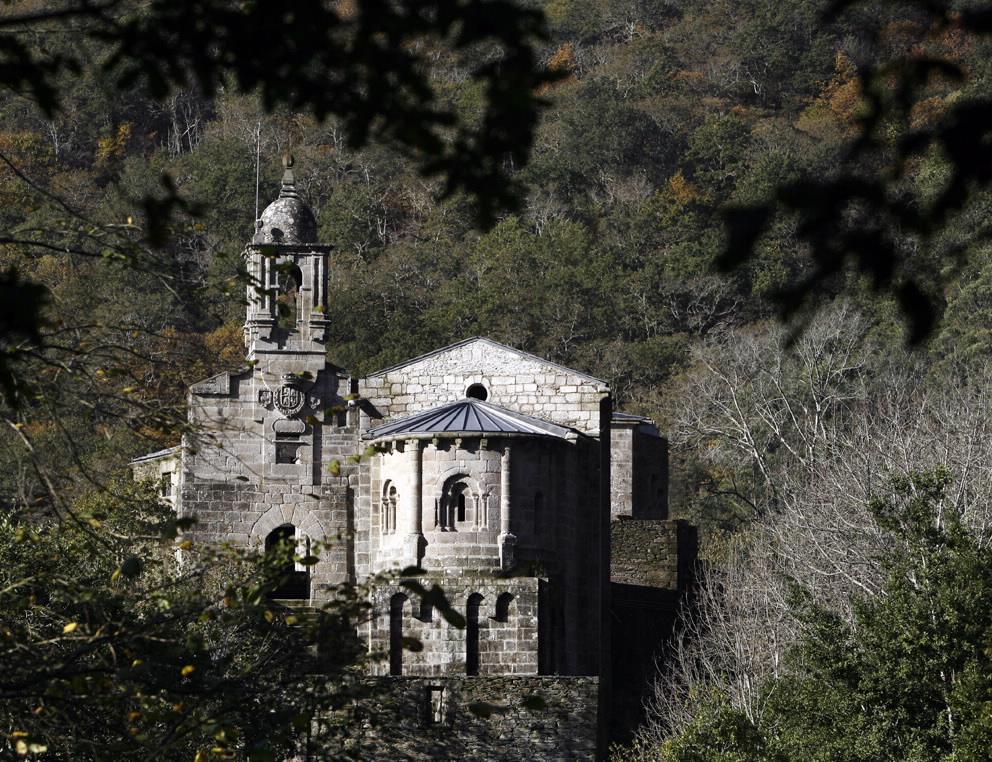 Monasterios de Caaveiro en A coruña