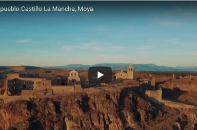 Impresionante la ruinas del Castillo de Moya en Cuenca