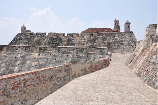 El impresionante Castillo San Felipe de Barajas, un histórico destino español en Cartagena de Indias