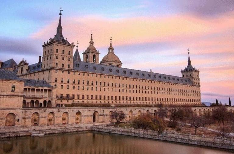 Monasterio de El Escorial, Patrimonio de la Humanidad mandado a construir por Felipe II